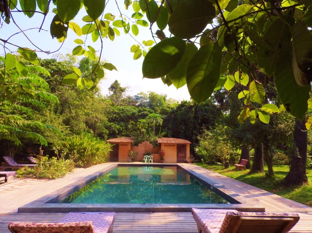 Swimming Pool at Angkor Zen