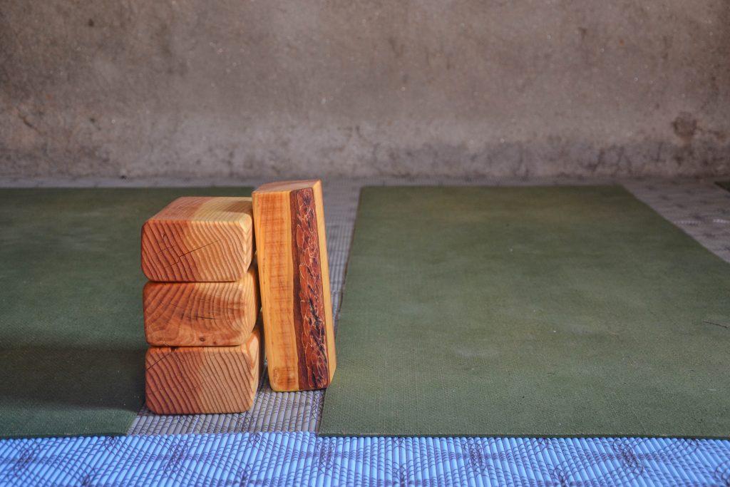 Home made eco yoga blocks