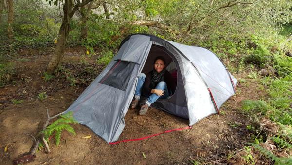 Camping at Terra Alta Portugal