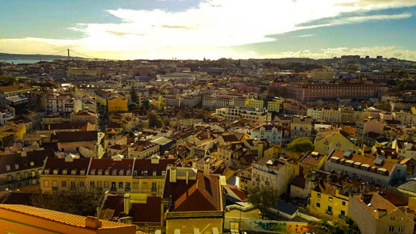 View in Lisbon