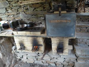 Awakened Forest Project is completely off grid. These are their Wood powered rocket stove and oven.