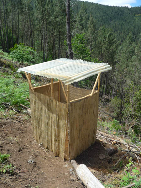 awakened forest project compost toilet