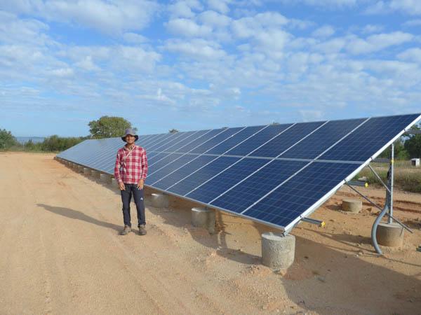Photovoltaic Panels at Vale Da Sarvinda Portugal