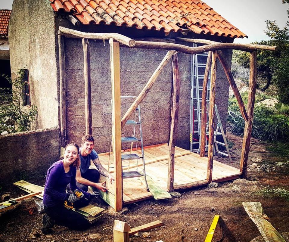 volunteering carpentry