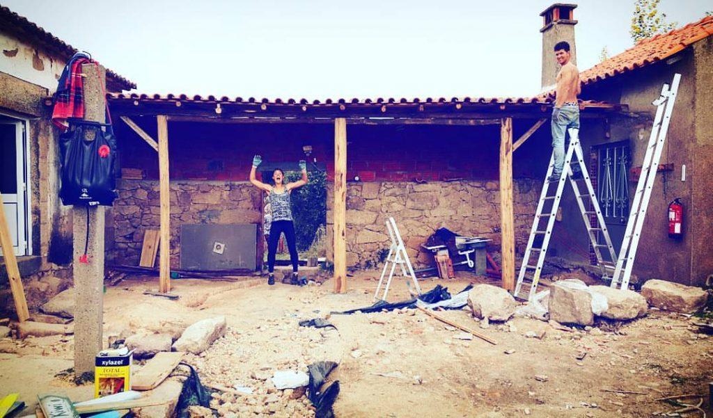 volunteering natural building