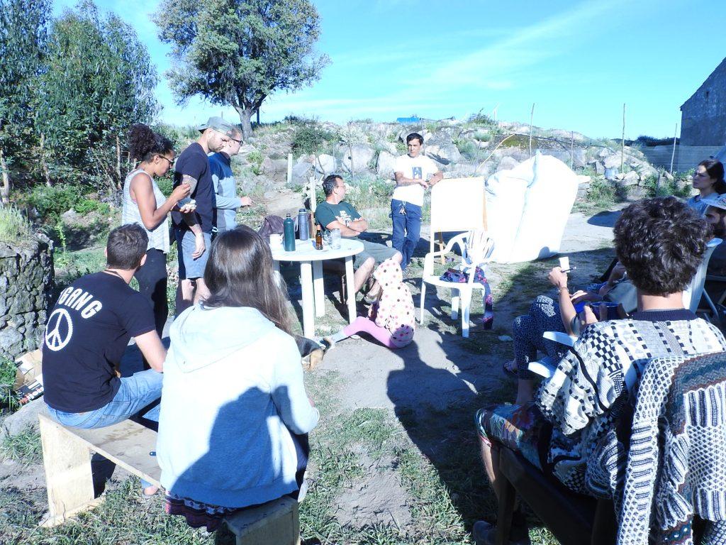 Regular workshops on permaculture