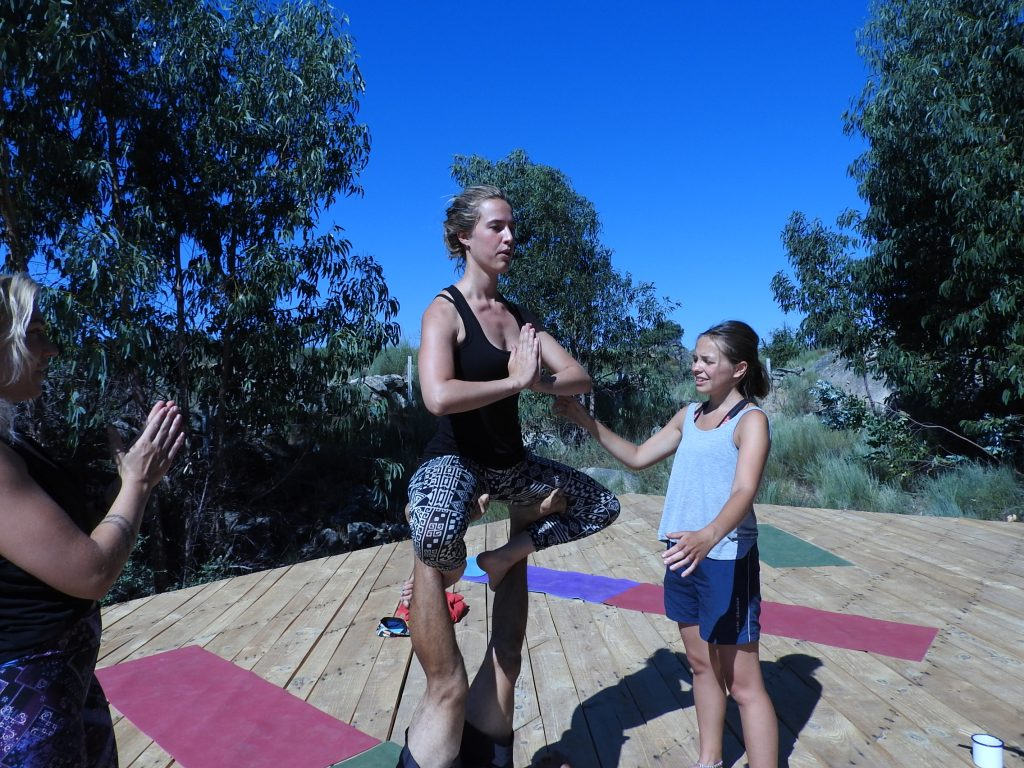 Acro Yoga, anyone can do it.