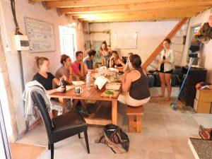 Fermenting workshop with Kimberly, Kombucha, Sauerkraut,, Apple cider vinegar etc