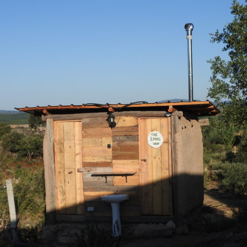 Long Drop Vermiculture Compost Toilet