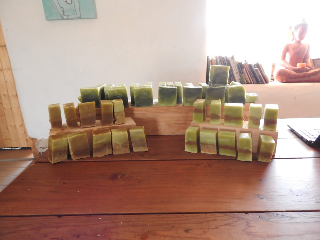 Home Soap with ingredients from the land