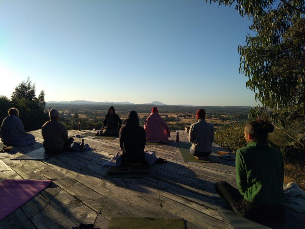 Meditation with Sudhir RIshi