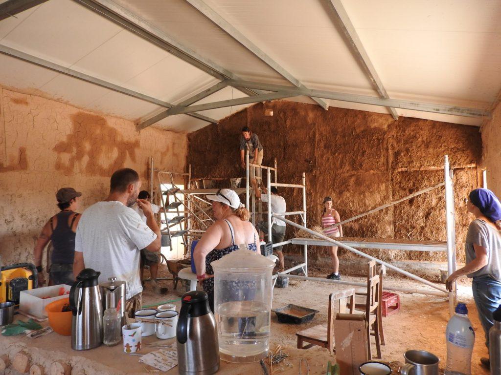 natural plastering